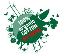100 % organic cotton by hefel
