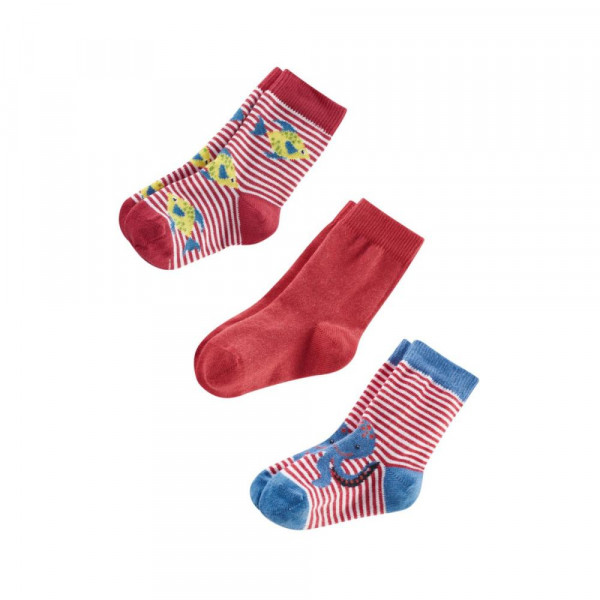 Living Crafts Cake Socken 3er Pack